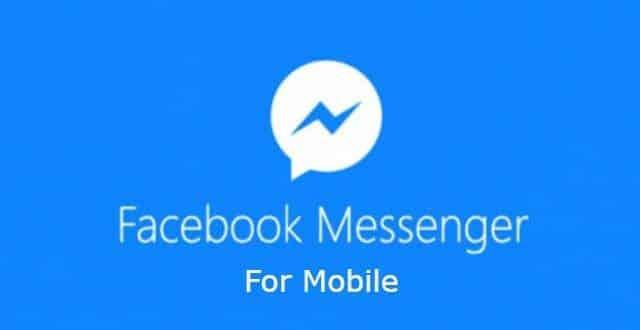تنزيل ماسنجر فيس بوك messenger chat