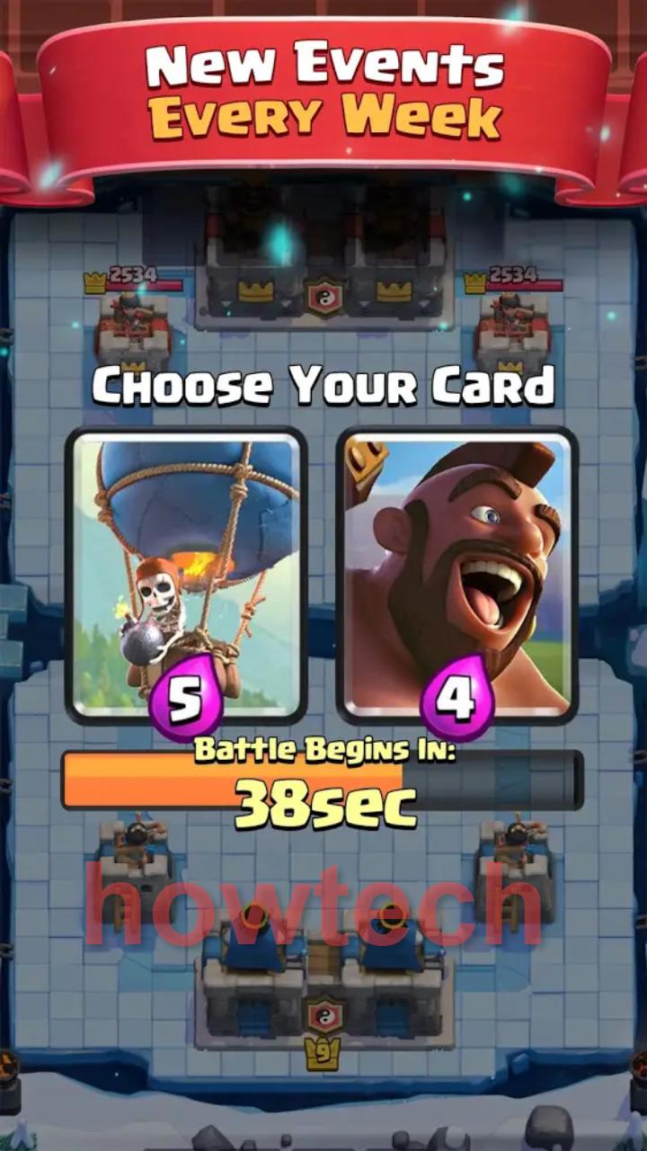 تحميل لعبة clash royale