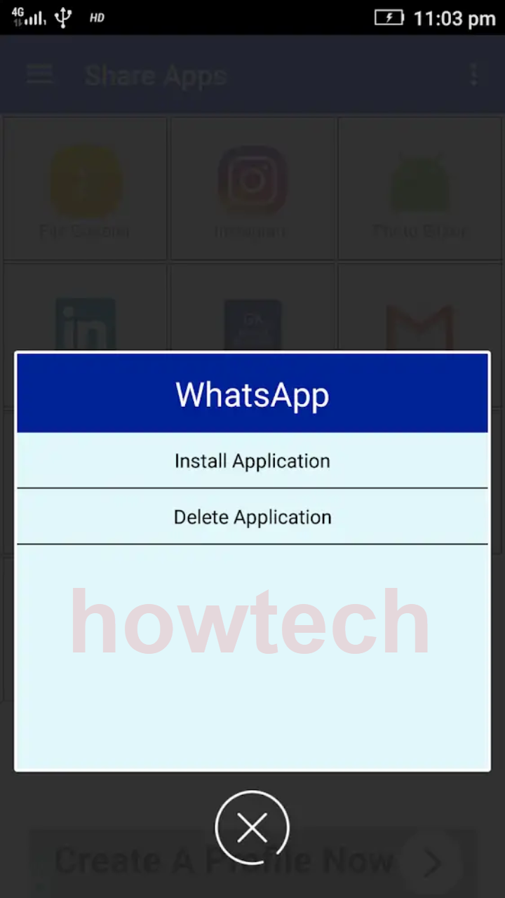 تحميل تطبيق share apps