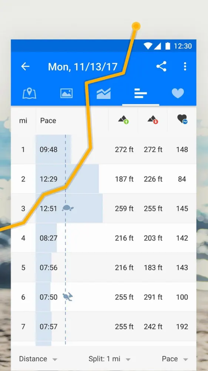 متابعة رياضة الجري