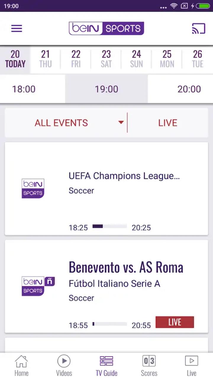 متابعة جميع احداث كرة القدم و مباريات كاس العالم