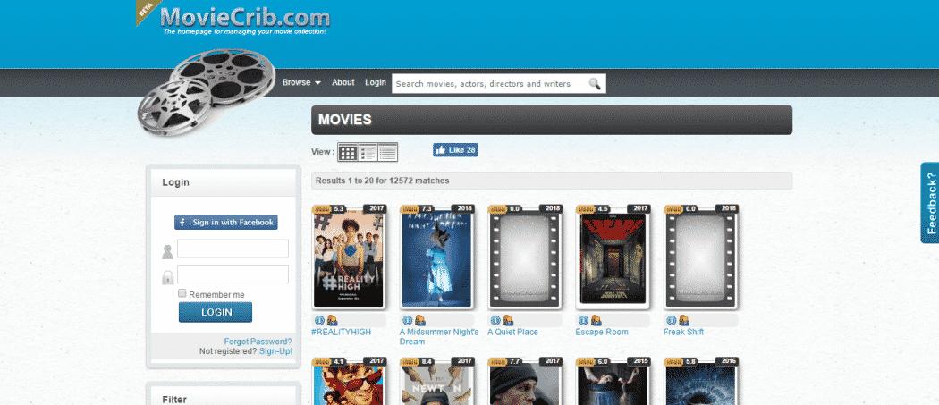 موقع افلام اجنبي MoviesCrib