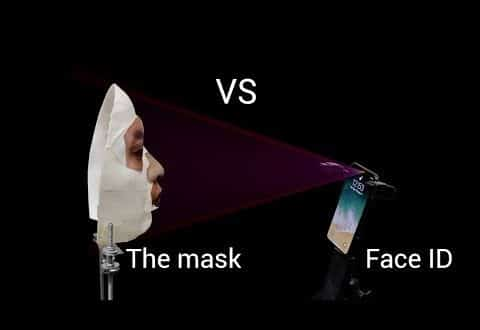 قناع يخترق تقنية Face ID في ايفون x