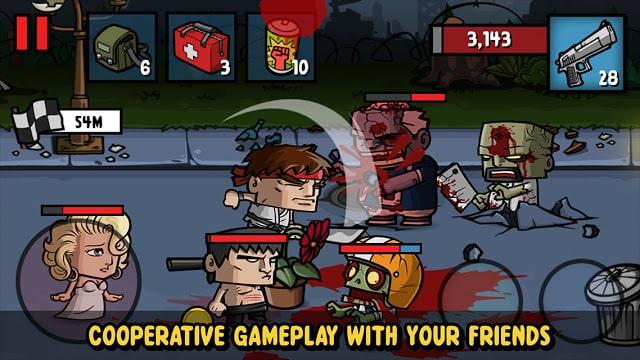 لعبة قتال الزومبي
