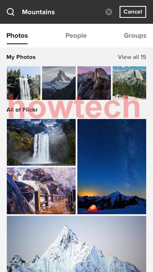 برنامج Flickr