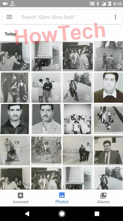 الاحتفاظ بالصور في google photo