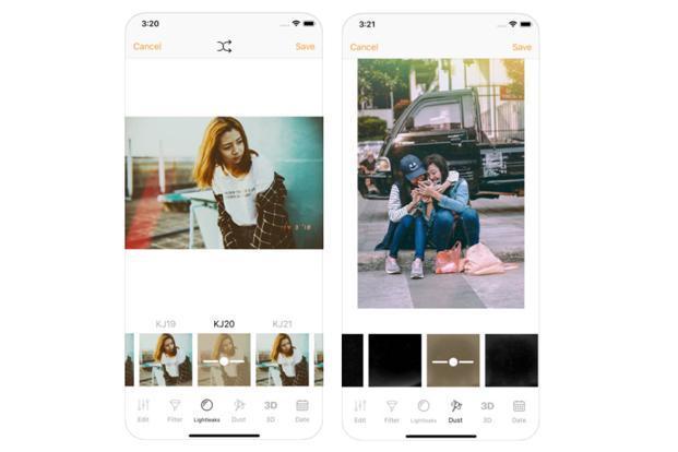 تطبيق تحسين صور الايفون وتعديلها