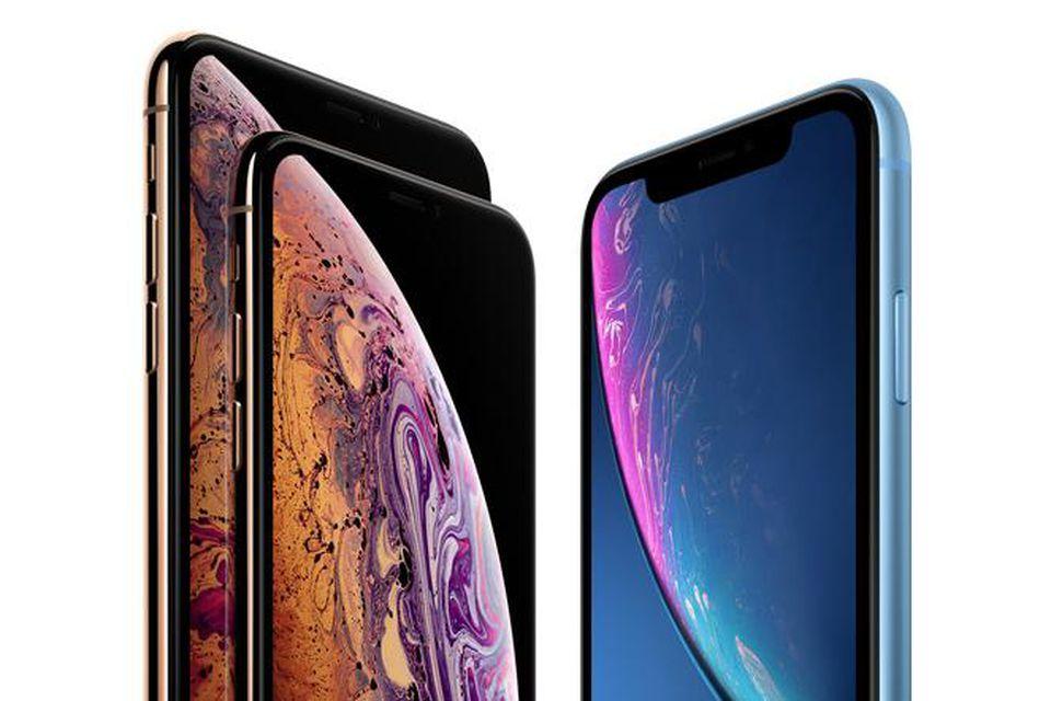 هاتف iPhone Xs و iPhone XR