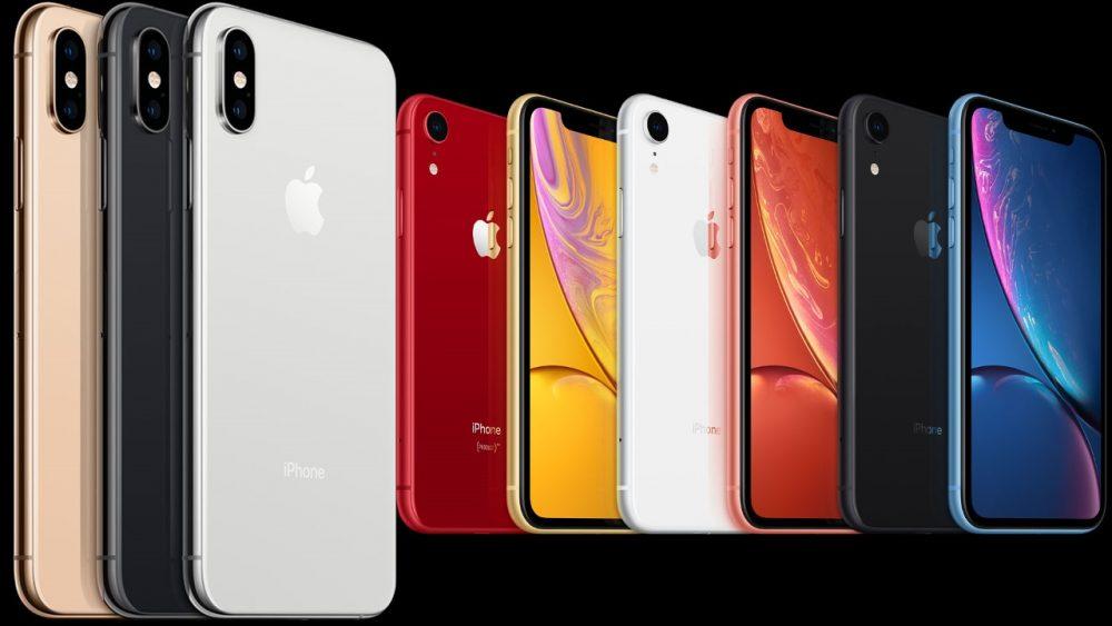 الوان و اشكال هاتف iPhone Xs Max