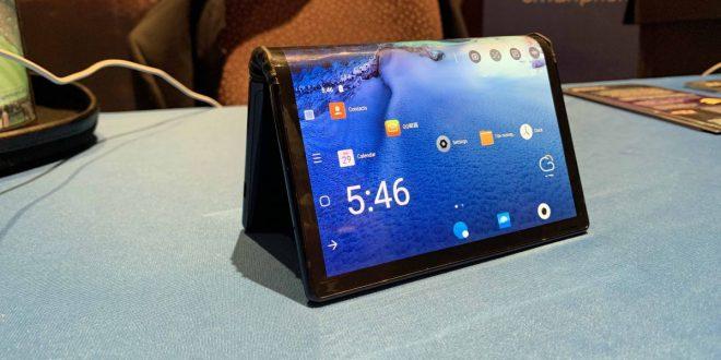Royole FlexPai , أول هاتف قابل للطي