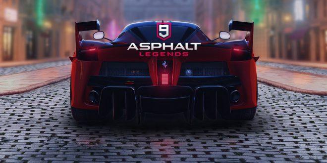 Asphalt 9 ,لعبة سباقات السيارات Asphalt 9